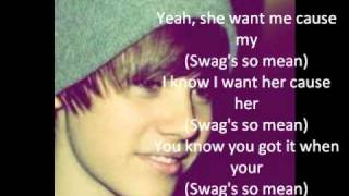Watch Justin Bieber Swags Mean video