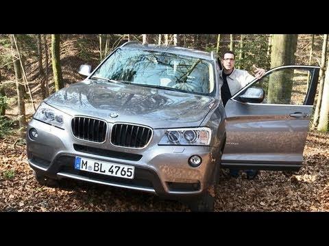 BMW X3: Sportlicher Allradler mit Lenkrad-Manko