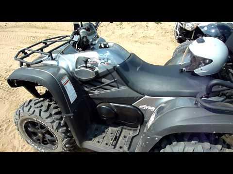QUAD / ATV / KYMCO  MXU  500 DX  12 JUNI  2011