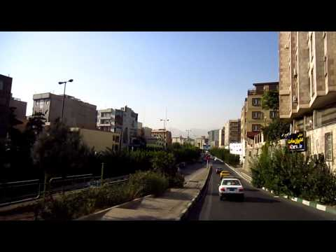 Moto Taxi Accident in Iran  | From City Center to The North Tehran with ONLY ONE small ACCIDENT :-)