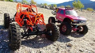 PiNKY & TANGO in the Southern California DESERT - PART 1 | RC ADVENTURES
