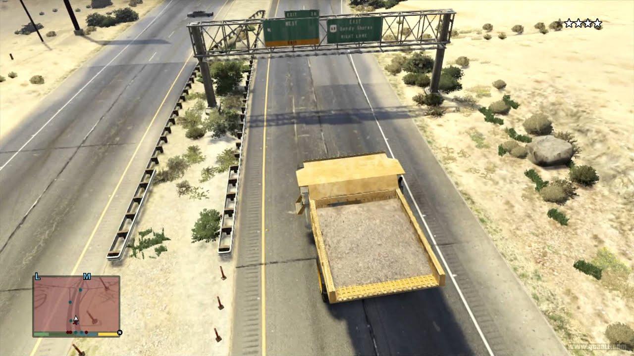 Hvy Dump Location Gta 5 Gta 5 Transport Hvy Dump