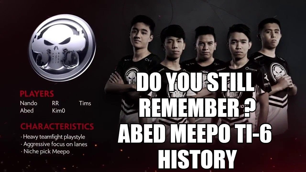 DO YOU STILL REMEMBER ? Abed 15 YO Meepo Master TI 6 Recap Dota 2