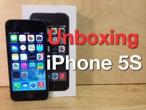 Unboxing iPhone 5S  - Comparación con el iPhone 5