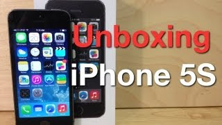 Unboxing iPhone 5S  - Comparación con el iPhone 5