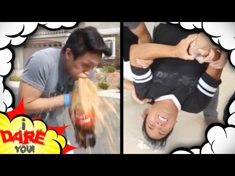 JUMPING ON LEGOS! (I Dare You ft. Dtrix & Green)