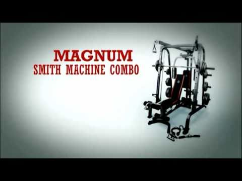 Magnum Smith Machine Combo - Home Gym Exercises - Fitness & Strength Workouts