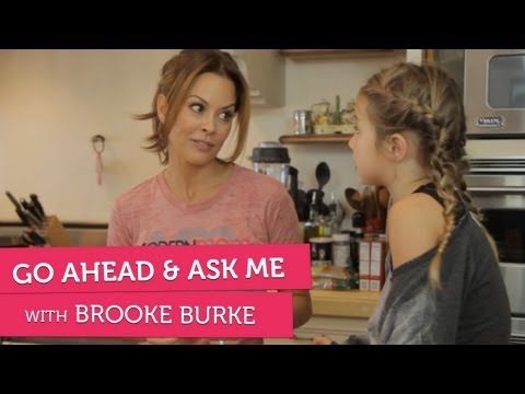 Brooke Burke on Secrets, Bad Behavior and Cheating - Go Ahead & Ask Me