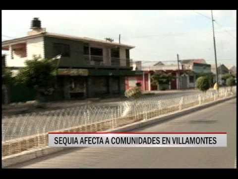 29/10/2014 - 20:18 SEQUIA AFECTA A COMUNIDADES EN VILLAMONTES