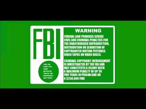 my own green fbi warnings youtube