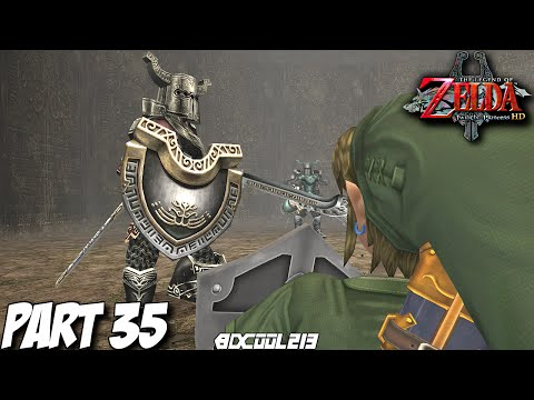 The Legend of Zelda Twilight Princess HD Gameplay Walkthrough Part 35 Cave of Ordeals - Wii U