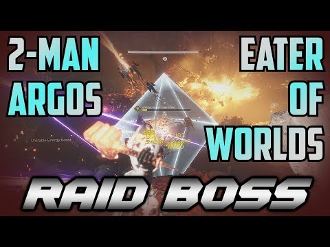 Destiny 2 - Two Man Argos, Eater of Worlds Raid Boss