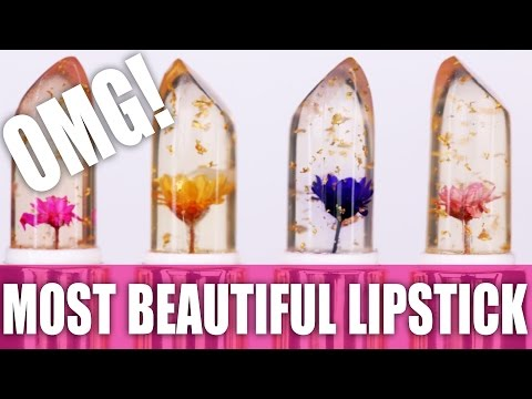 JELLY FLOWER LIPSTICK ... OMG!!!