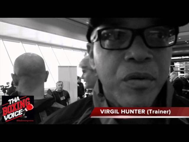 Virgil Hunter talks Canelo Angulo