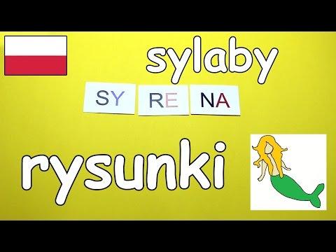 Nauka Sylab Z Rysunkami Po Polsku [abc Zabawa] - AbcZabawa