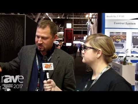 ISE 2017: Sara Abrons Interviews TJ Adams at QSC About QSYS on Dell Servers
