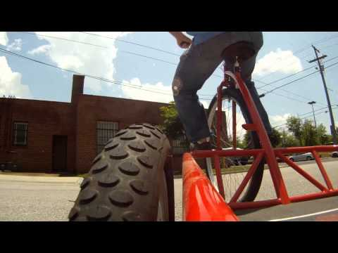 Coker Cycles Tricycle Prototype World Record Top Speed Run