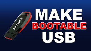 How To Make USB Bootable For Windows 7 8 10   YouTube