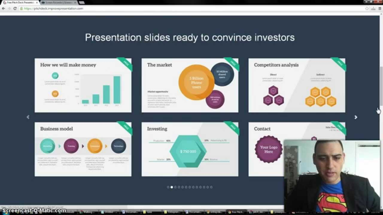 Powerpoint Pitch Deck Template