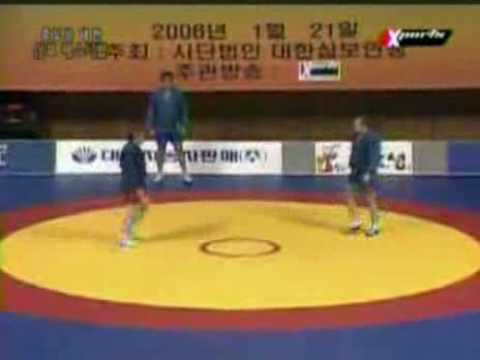 Fedor Emelianenko vs. Alexander Emelianenko (brother) vs. Voronov (coach) 2006 SAMBO Festival Korea Image 1