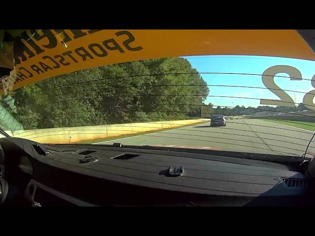 BimmerWorld Racing Seth Thomas BMW E90 328i Road Atlanta Practice