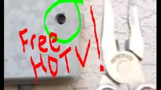 How to Connect Cables to Get Free HD TV Channels Legally!!!