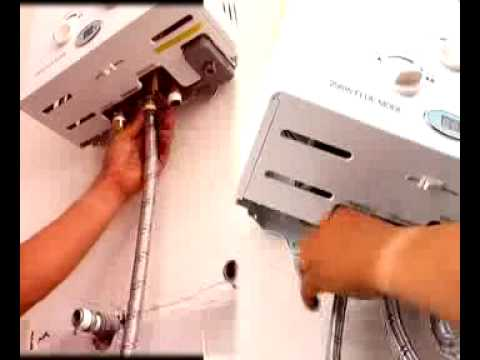 Instalacion boiler de paso Degree