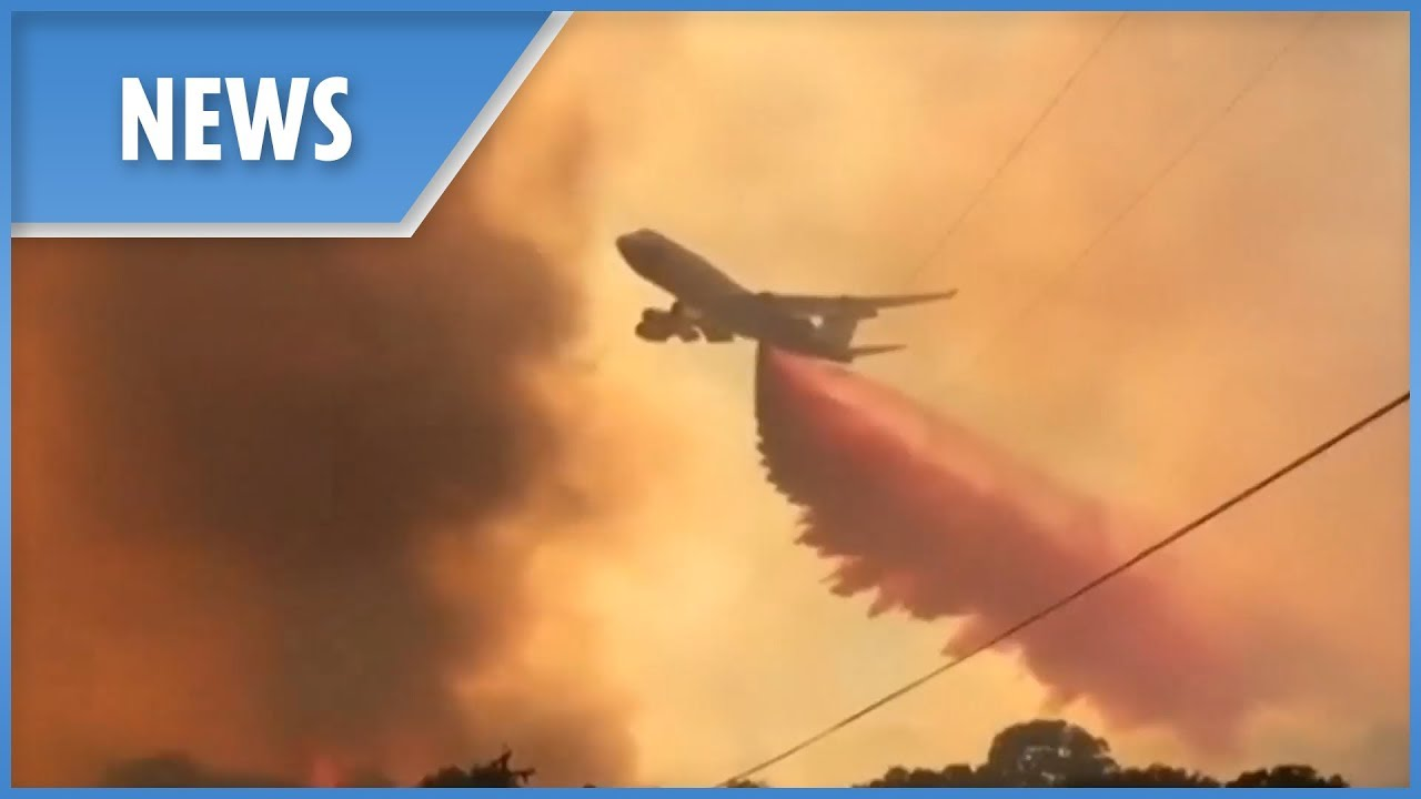 California wildfires become largest CA history