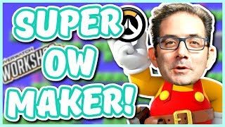 Overwatch - FUNNY WORKSHOP GAMES ON CONSOLE (Super Overwatch Maker)
