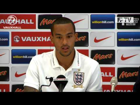 "Theo Walcott ""Wembley feels like home"", press conference England v Moldova"