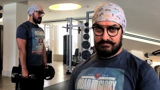 Aamir Khan Workout For Thugs Of Hindostan !!