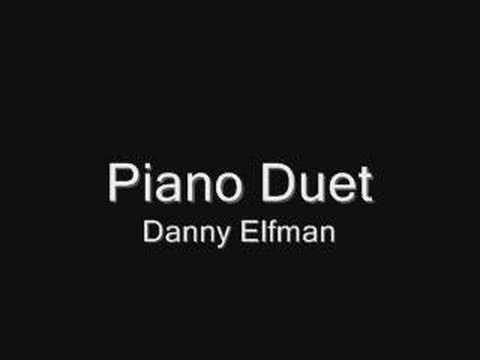 Danny Elfman - The Piano Duet
