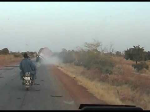 Accident camion en Afrique