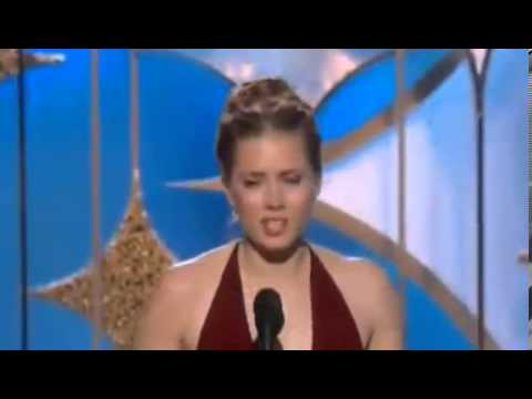 Amy Adams Wins Golden Globe Awards 2014 | HD