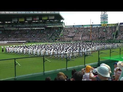 2014夏の甲子園開幕 第96回高校野球 開会式 The Opening Ceremony of High School Baseball in Japan