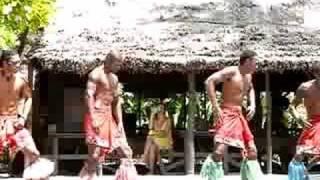 Robinson Crusoe Island Dancers, Fiji. Ziggy's dance