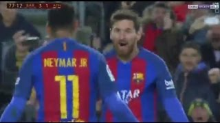 Barcelona vs Athletic Bilbao 3-1 All Goals & Extended Highlights Copa de rey 11/01/2017
