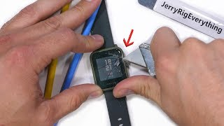 Does the Amazfit Bip Smartwatch Fall Apart on its own?