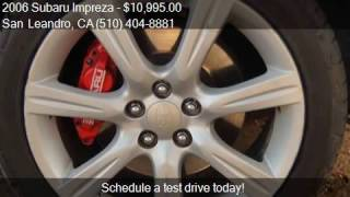 2006 Subaru Impreza WRX Sport Wagon 4D for sale in San Leand