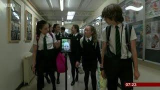 Robots Helping Children Attend School - BBC Breakfast News