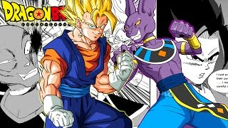 Dragon Ball Z: Super Vegito Vs Lord Beerus (Fan Manga Review)