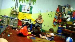 "Russian school of arts ""Progress""  Music class with 2 years old children"