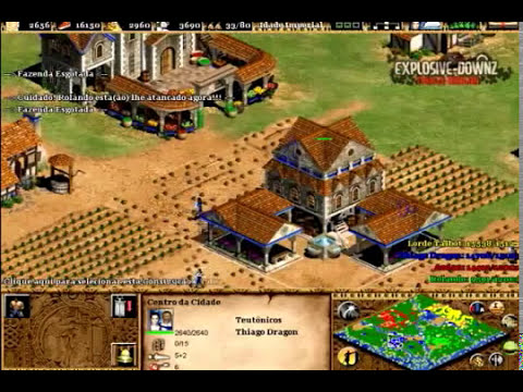 [Age of Empires II] Jogando AOE - The Age of Kings