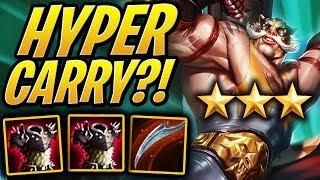 ⭐⭐⭐ 3 STAR BRAUM Hyper Carry?! | Teamfight Tactics | TFT | League of Legends Auto Chess