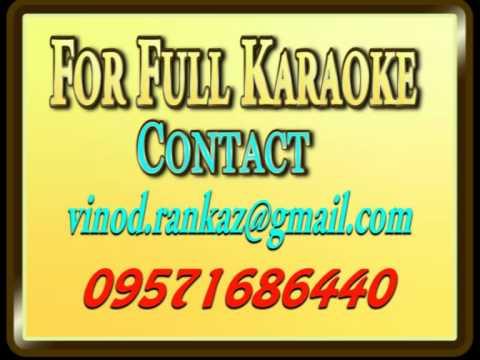 O Meri Mehbooba Mehbooba Tujhe Aana Hai To Aa- Karaoke- Dharam Veer video