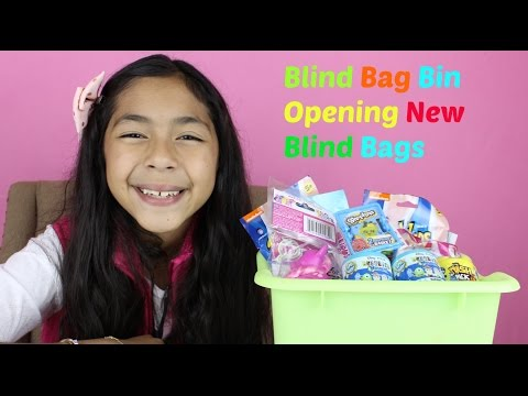 Monday Blind Bag Bin  My Little Pony,McDonalds Happy Meal, Shopkins Baskets,Spongebob,Care Bears