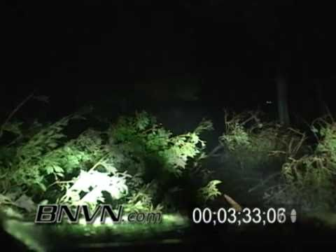 Hurricane Rita Video - Texas - 9/24/2005 Port Arthur Texas - Part 9