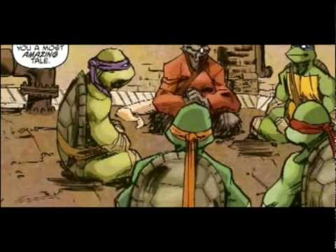 IDW Teenage Mutant Ninja Turtles - Genesis - Motion Comic