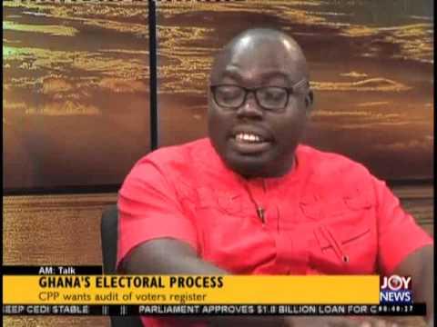 Ghana's Electroal Process  - AM Talk on Joy News (17-7-15)