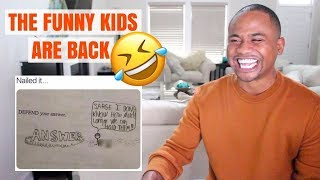Funniest Kid Test Answers & Funny Detention Slips (2019)